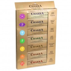 Collection d'encens 7 chakra